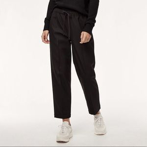 Aritzia Babaton The Group Jimmy Pant in Dark Gray